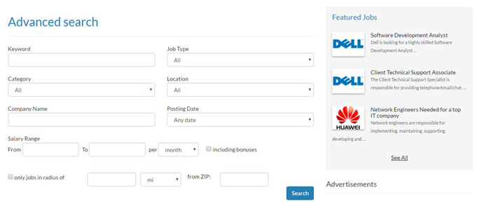 advanced-search-form-jobs Job Application Form Php Script on php dll files, php ebooks, php myadmin, php basics, php web, php documentation, php directory contents, php form generator, php html,