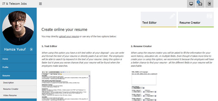 adding a cv in the jobseeker administration panel job site php script